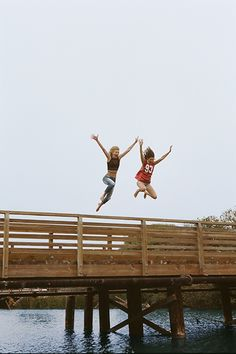 Taking the leap with your best friend by your side
