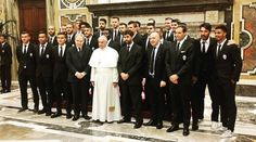 Juventus and Milan have an audience with the Pope http://gianluigibuffon.forumo.de/post74618.html#p74618