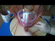 Kosárfonás papírból 8. - A kerítésfonás trükkje - YouTube