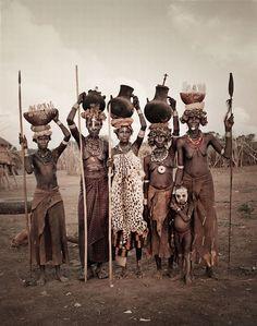 África .Dassanech, Etiopía