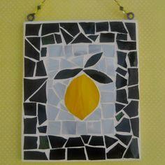 Lemon Mosaic Wall Hanging