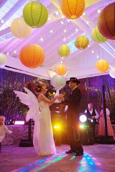 Rustic Halloween Wedding: Aspen & Brad | Wedding Planning, Ideas & Etiquette | Bridal Guide Magazine