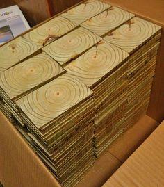 End Grain Wood Floor