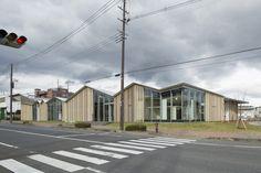 Towada Community Plaza / Kengo Kuma & Associates