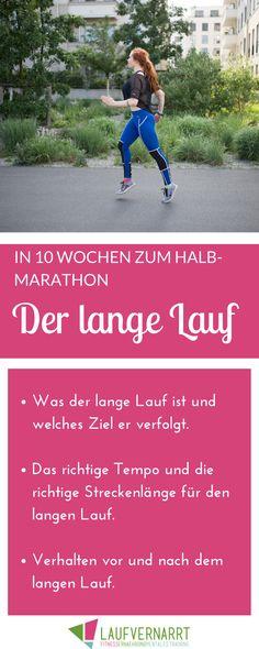 In 10 Wochen zum Halbmarathon - Der lange Lauf. Was ist eigentlich genau der lange Lauf? Welches Ziel er verfolgt und wie du das Beste aus deinem langen Lauf herausholst, erfährst du hier.