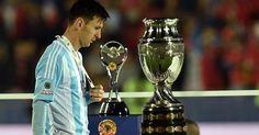 Messi no quiso recoger el trofeo MVP de la Copa América   Madrid – Barcelona