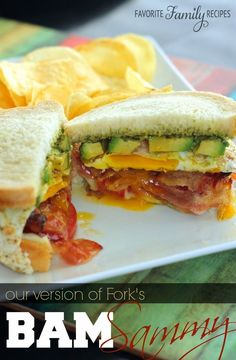 Our Version of Fork's BAM Sammy - One of my favorite sandwiches ever!!