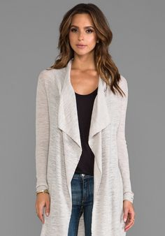 AMERICAN VINTAGE Wappingers Cardigan in Porcelain - New