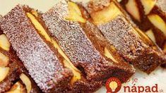Najobľúbenejší zmiešaný koláč z krupice a jabĺk: Veľmi jednoduchá príprava a úplne fantastická chuť!