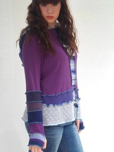 Jam Custom Designs Upcycled Sweater Hoodie by JamCustomDesigns, $60.00