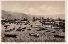 Barcos en el Puerto de Santa Cruz de Tenerife