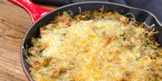 Cheesy Brussels Sprout Casserole