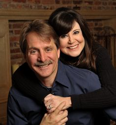 Jeff Foxworthy and wife Pamela, married in 1985