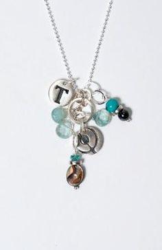 A DIY necklace from Annie Adams