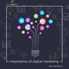 Digital marketing is one of the ways by which you can directly communicate with your customers, create brand awareness, generate leads, and ensure better ROI. Digital marketing also helps you reach a wider audience in less period of time. Digital Marketing Services, Seo Services, Search Optimization, Custom Website Design, Marketing Techniques, Brand Guidelines, Email Design, Creating A Brand