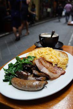 """""""Breakfast Set"""", Degraves, Melbourne"""