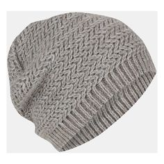 Topshop Two Tone Zigzag Beanie ($24) ❤ liked on Polyvore