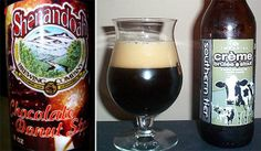 "Chocolate Donut Beer comes from the Shenandoah Brewery in Alexandria, Virginia. Almost as bizarre a combination as pizza beer, this odd brew has nonetheless received good reviews. One stated that it smelled ""like you just opened a pack of those cheap waxy corner store chocolate gem donuts"".Creme Brulee Stout has been compared to dessert in a bottle. Although it isn't as syrupy as it sounds, it is very sweet, with a subtle stout flavour, but also contains elements of cream, vanilla and maple."