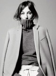 Phoebe Philo. Everything about her clean silhouettes and androgynous style is PERFECTION.