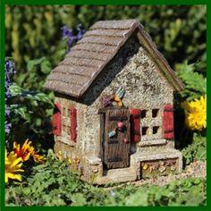 Hummingbird Hideaway Fairy House