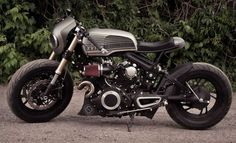 """Rouge One"" – 1982 Yamaha Virago XV750 Custom | Bike-urious"