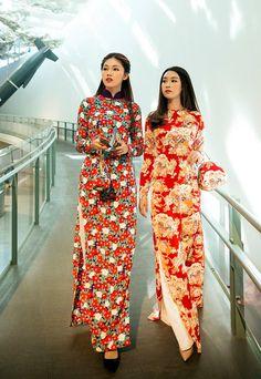 Mỹ Linh, Thanh Tú diện áo dài thướt tha trên đường phố Nhật hình ảnh 1