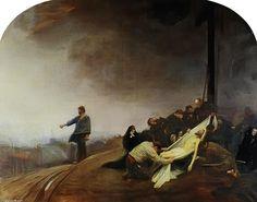 """""""Déposition du Christ"""", 1892 by Jean Georges Béraud (1849-1936, France)"""