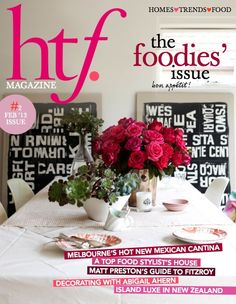 htf. magazine issue two. The foodies' issue. www.hardtofind.com.au