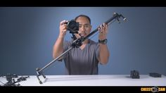 DIGISLIDER 2 Axis Auto-Pan Video TimeLapse Stop Motion Slider