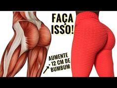 COMO AUMENTAR DE 5 A 12 CM DE BUMBUM EM CASA! Exercicios Para Aumentar Pernas e Gluteos Rapidinho! - YouTube