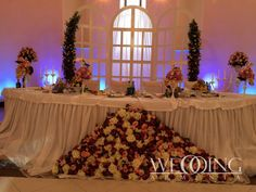 "Bright & beautiful flowers & decorations for decorating wedding halls by ""WeddingArmenia"". http://weddingarmenia.com/en/flowers-decoration/"