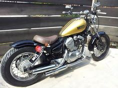 golden virago bobber                                                                                                                                                                                 More