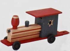 Wooden Model Train Kit