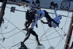 @Oracle Corporation Corporation TEAM USA Spithill Capsize:  Spidermen!