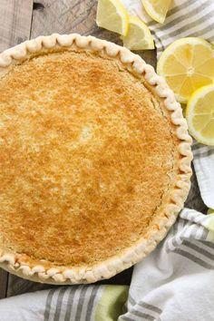 Blender Lemon Pie