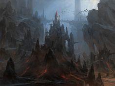 ArtStation - volcano, Lee b