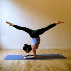 Fun and Challenging: Yoga Poses For Your Bucket List - started yoga but not quite here yet