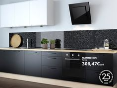 Ikea Kitchen · Black
