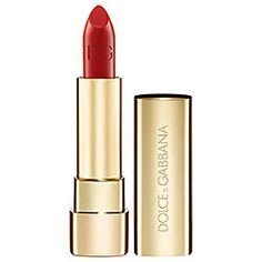 Dolce&Gabbana - The Lipstick Classic Cream Lipstick  in Iconic 210 - bright warm red  #sephora