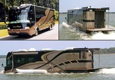 Watch the video to see this amphibious Terrawind in action, you won't quite believe your eyes. #spon #InsaneHomes