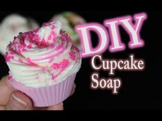 DIY Melt and Pour Cupcake Soap - YouTube