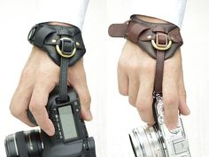 leather wrist strap for camera