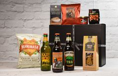 Award winning Ale, Cider and Chilli Hamper - A delicious hamper just for him with a selection of award winning ales, delicious cider and fiery treats. Honey Tea Recipe, Gift Hampers, Tea Recipes, Luxury Gifts, Inspirational Gifts, Beer Bottle, Treats, Coffee, Gift Ideas