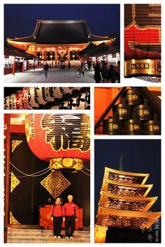 Asakusa Shrine (浅草神社) Asakusa, Tokyo  JapArch, photo by Hubert Roguski