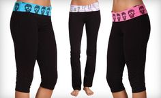 I would be more motivated to work out if I had skull print yoga capri pants.
