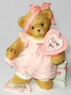 Heidi´s Cherished Teddies Galerie: VALENTIN GIRL 2003 - We`ve Pieced Together A Perfect Love (107059)