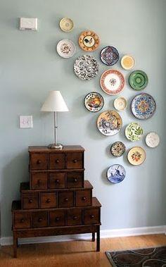 Plates, Plates, Plates #platos #decoración #resulabrador.com