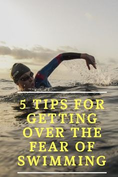 Fantasized about finishing a triathlon but not sure how to get over your fear of swimming? We have 5 tips to get over the fear and accomplish your goals! Triathlon Motivation, Triathlon Gear, Triathlon Training, Strength Training, Half Ironman, Brain Training, Bike Run, Running Workouts