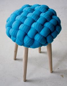 Blue Stool- adorable!!