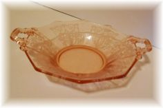 Bubbles of Joy: Pink Saturday Depression Glass